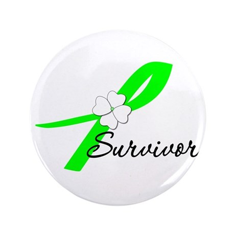 Lymphoma Survivor 3.5&quot; Button