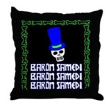 Baron Samedi Throw Pillow