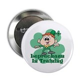 "Leprechaun In Training 2.25"" Button"