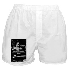 Mary Shelley Frankenstein Boxer Shorts