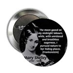 Mary Shelley Frankenstein Button