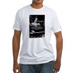 Mary Shelley Frankenstein Fitted T-Shirt