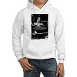 Mary Shelley Frankenstein Hooded Sweatshirt