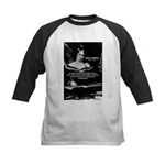 Mary Shelley Frankenstein Kids Baseball Jersey