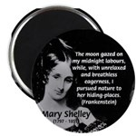 Mary Shelley Frankenstein Magnet