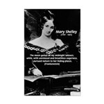 Mary Shelley Frankenstein Mini Poster Print