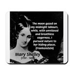 Mary Shelley Frankenstein Mousepad