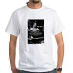Mary Shelley Frankenstein White T-Shirt