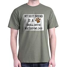 My best friend is a SMALL DUTCH WATERFOWL DOG T-Shirt