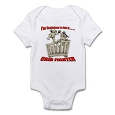 Training to be a Crib Fighter Onesie