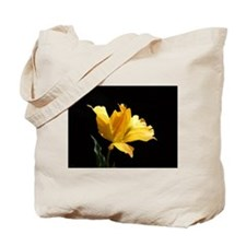 Yellow Parrot Tulip Tote Bag