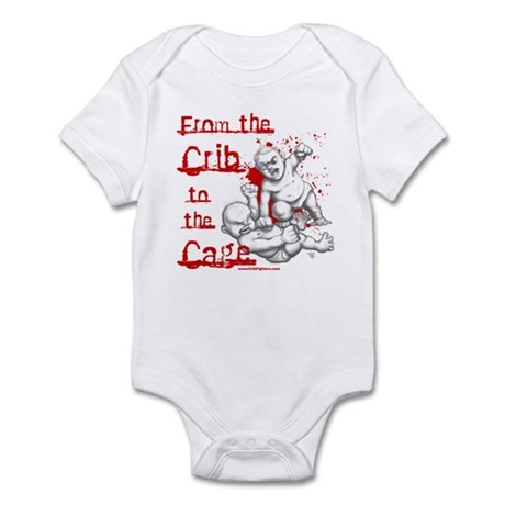 Crib to the Cage Hardcore Infant Bodysuit