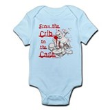 Crib to the Cage Hardcore Onesie