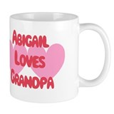 Abigail Loves Grandpa Mug