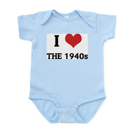 I Love The 1940s Infant Creeper