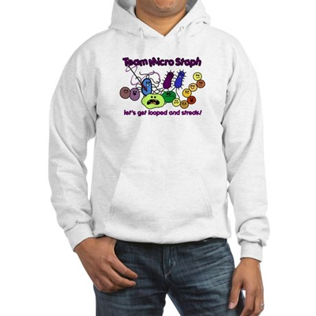 I Love Bacteria Hooded Sweatshirt