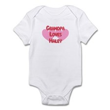 Grandpa Loves Haley Infant Bodysuit