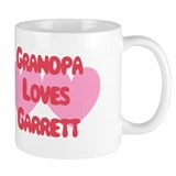 Grandpa Loves Garrett Coffee Mug