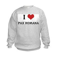I Love Pax Romana Sweatshirt