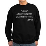 Mark Twain 25 Sweatshirt (dark)