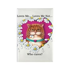 Loves Me Rectangle Magnet