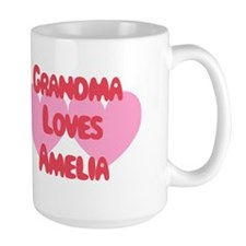 Grandma Loves Amelia Mug