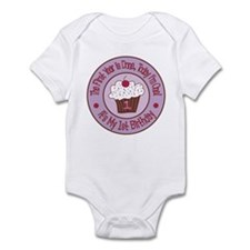 First Birthday Cupcake Infant Onesie