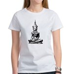 Buddha (Black) Women's T-Shirt