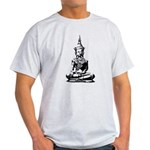 Buddha (Black) Light T-Shirt
