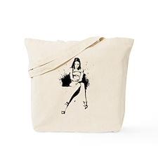 Lonely (Black) Tote Bag