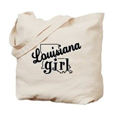 Louisisana Girl Tote Bag
