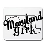 Maryland Girl Mousepad