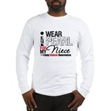 Lung Cancer (Niece) Long Sleeve T-Shirt