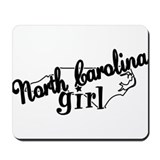 North Carolina Girl Mousepad