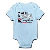 Lung Cancer (Nephew) Infant Bodysuit