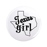 "Texas Girl 3.5"" Button"