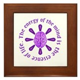 Energy of the Mind Framed Tile