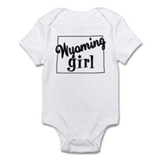 Wyoming Girl Infant Bodysuit