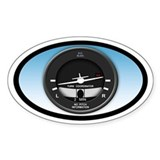 Turn Coordinator Euro Oval Decal
