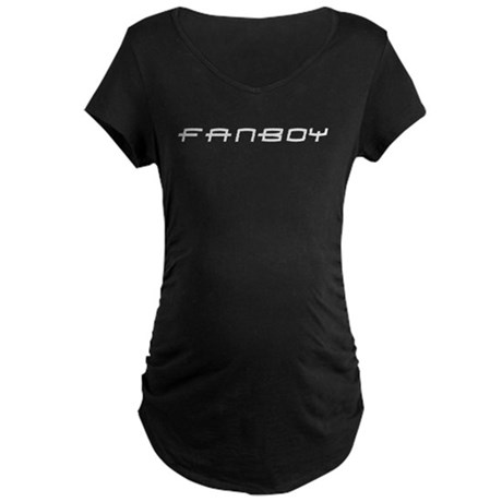 Fanboy (PS3) White Maternity Dark T-Shirt