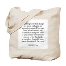 NUMBERS  5:19 Tote Bag