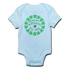 St Pats Happy Birthday To Me Infant Bodysuit