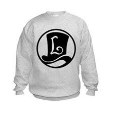 Professor Layton (Black) Kids Sweatshirt
