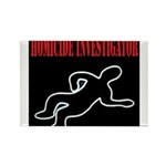 Homicide Investigator Rectangle Magnet (10 pack)