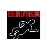 Homicide Investigator Postcards (Package of 8)