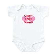 Garrett Loves Grandpa Infant Bodysuit