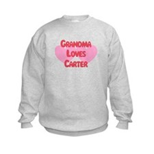 Grandma Loves Carter Sweatshirt