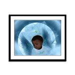 Heavenly Cradle (Closeup):Framed Panel Print