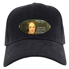 Novelist Mary Shelley Baseball Hat