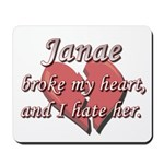 Janae broke my heart and I hate her Mousepad